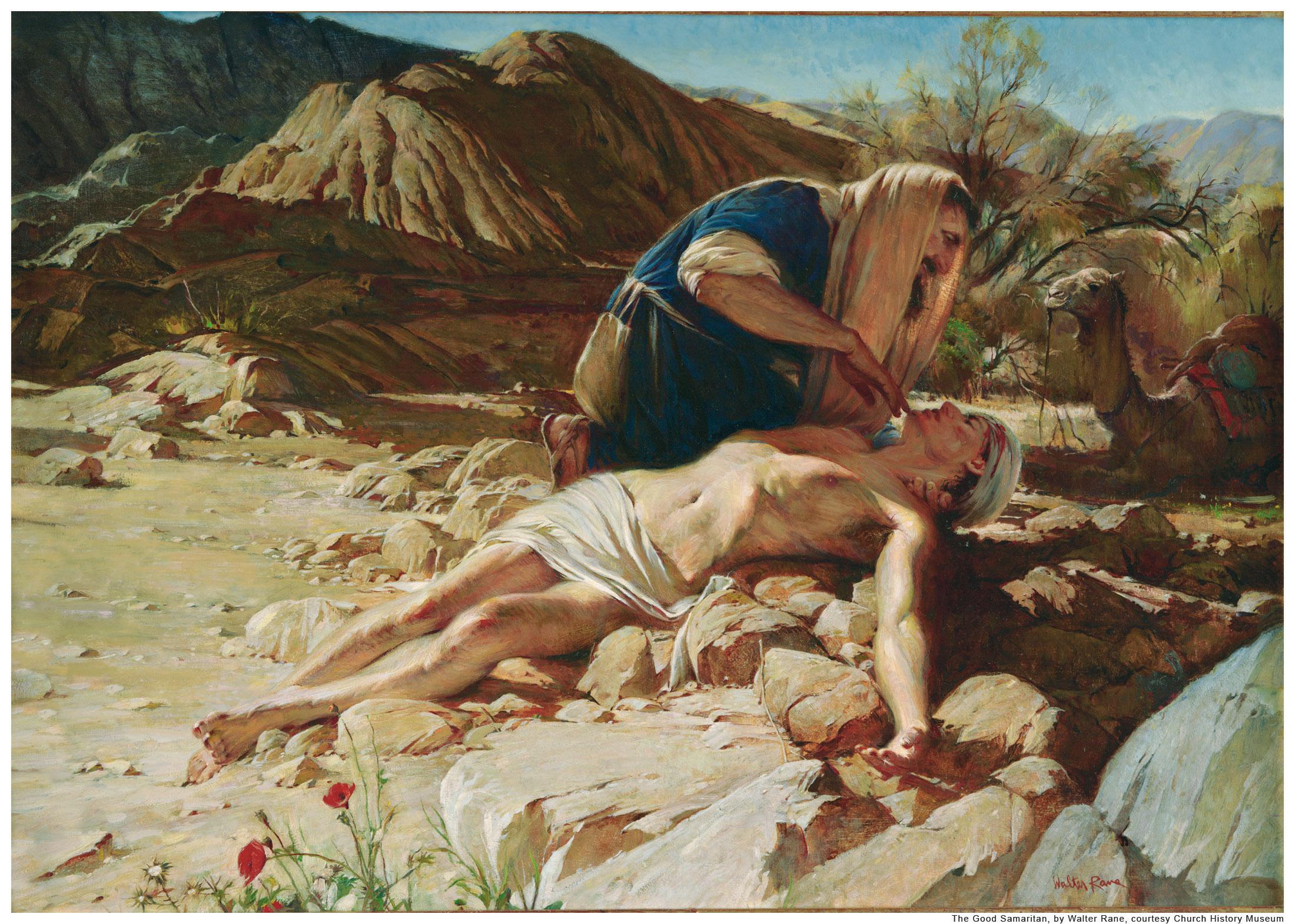 gospel of luke and good samaritan