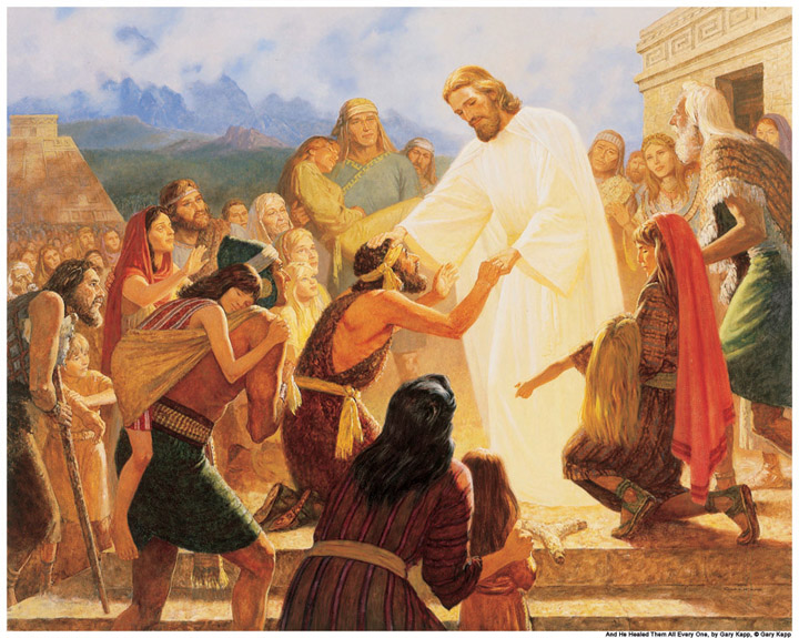 how to receive healing from jesus christ