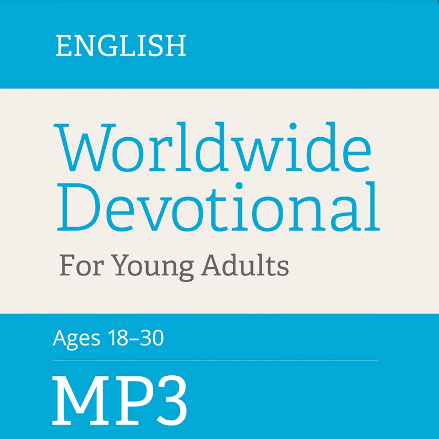 Worldwide Devotional For Young Adults | MP3 | ENGLISH